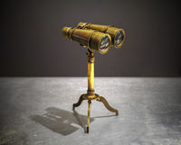 Prismatische binoculaire uitstekende stijl Royalty-vrije Stock Afbeelding