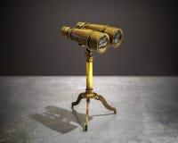 Prismatische binokulare Weinleseart Lizenzfreies Stockbild
