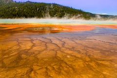 Prismatischer Frühling Yellowstone Lizenzfreie Stockfotos