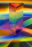Prisme avec des arcs-en-ciel image libre de droits