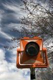 Prisme sous le ciel nuageux Photo libre de droits