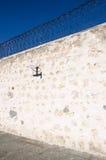 Prisão de Fremantle: Aro de basquetebol Imagem de Stock Royalty Free