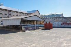 Prisão de Fremantle e jarda concreta Fotografia de Stock Royalty Free