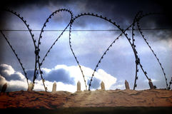 In prison Royalty Free Stock Image