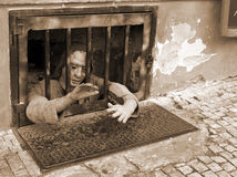Prison. Cells In A Prison: Prague Royalty Free Stock Images