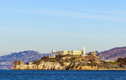 The prison of Alcatraz Royalty Free Stock Photos