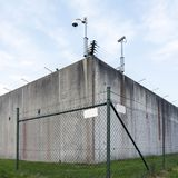 Prison at almere in the province of flevoland in holland Stock Image