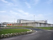 Prison at almere in the province of flevoland in holland Stock Photography