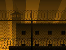 Prison background Royalty Free Stock Photos