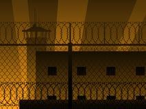 Prison background Royalty Free Stock Photos