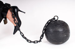 Prison ball Stock Photography