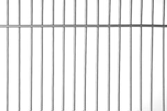 Prison bars. Metal bars with white background royalty free stock images