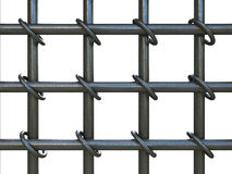 Prison bars Stock Image