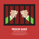 Prison Bars Graphic Royalty Free Stock Photography