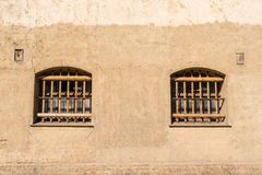 Prison with bars on the windows Stock Photography