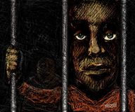 Prison buddies Stock Images