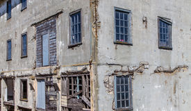 Prison Buildings of Alcatraz Island Prison Stock Photography