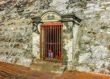 Prison Carthagène Colombie de forteresse de San Felipe De Barajas Photo libre de droits