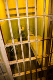 Prison cell on Alcatraz Island, San Francisco Stock Images