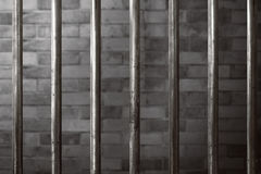 Prison cell background Stock Images