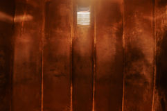 Prison cell in the Communist Prison, Berlin Royalty Free Stock Images