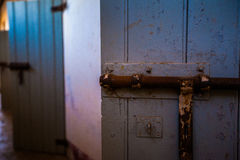 prison cell door Royalty Free Stock Images