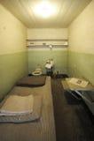 Prison Cell. Prison jail gaol cell on Alcatraz Stock Photo
