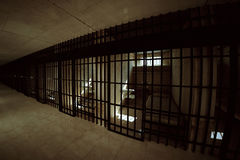 Prison cell. Royalty Free Stock Photos