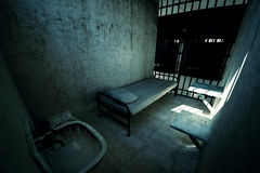 Prison cell. Stock Photography