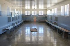 Prison Cell of Robben Island Prison Royalty Free Stock Photos