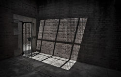 Prison Cell Royalty Free Stock Photos