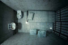 Prison cell. Stock Image