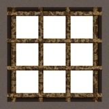 Prison cell window Royalty Free Stock Image