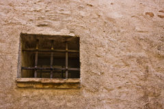 Prison cell window Stock Photo