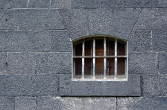 Prison cell window Royalty Free Stock Photography