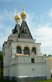 Prison Church of St. Elizabeth in Dmitrov's kremlin Royalty Free Stock Photos
