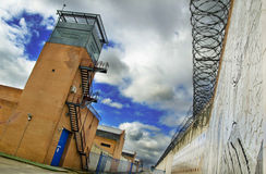 Prison tower Stock Image