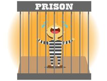 Prison cry vector illustration
