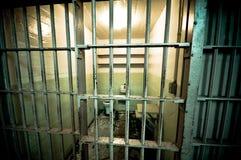 prison d'île de cellules d'alcatraz photo libre de droits