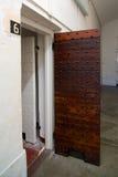 Prison de Fremantle de portes de cellules, Australie occidentale images libres de droits