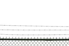 prison de frontière de sécurité Photo libre de droits