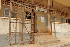 Prison de Tuol Sleng, Phnom Penh Photographie stock