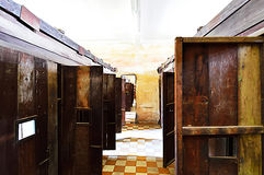 Prison de Tuol Sleng (S21), Phnom Penh Photos stock