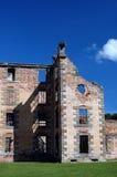 Prison in Decay. Old convict barracks in Tasmania Stock Images