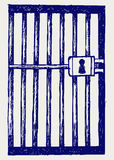 Prison. Doodle style Royalty Free Stock Image
