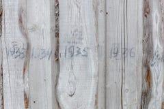 Prison fence fragment Royalty Free Stock Photos