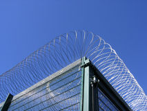 Prison fencing Stock Images