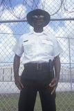 Prison Guard. At Dade County Correctional Facility, FL Royalty Free Stock Photos