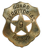 Prison Guard Badge Stock Photos