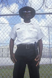 Prison Guard at Dade County Correctional Facility, FL Royalty Free Stock Image